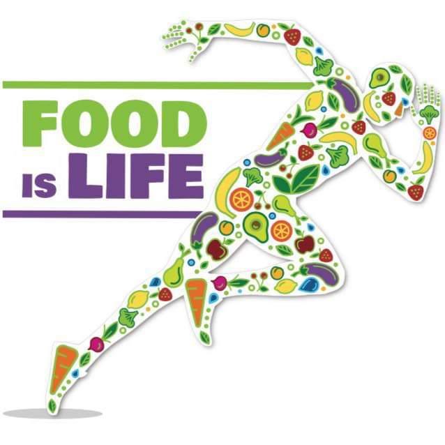 Food Is Life Logo